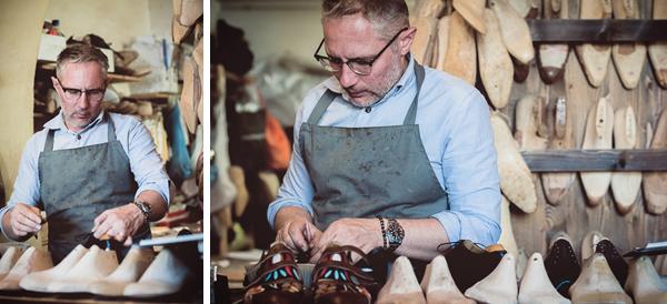 The artisan | Roberto Ugolini shoemaker