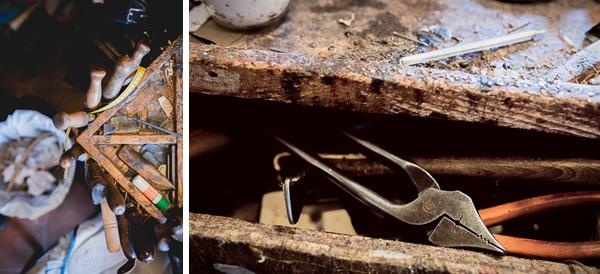 The tools | Roberto Ugolini shoemaker