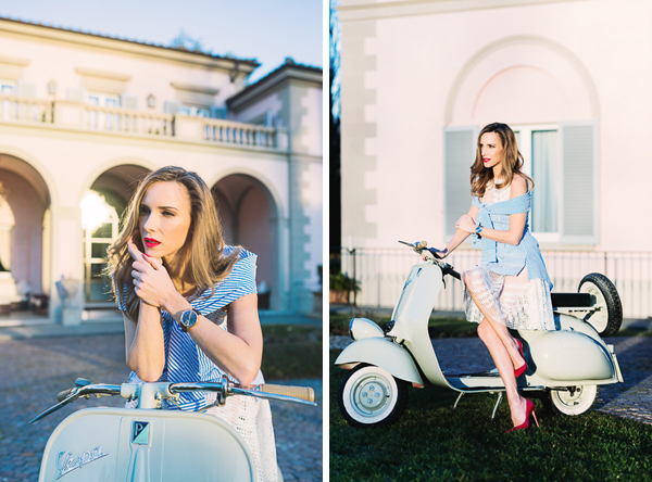 Vespa and Luxury event| IWC Watches
