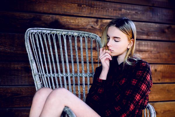 Beatrice seduta nel ranch | Marta Bevacqua Workshop