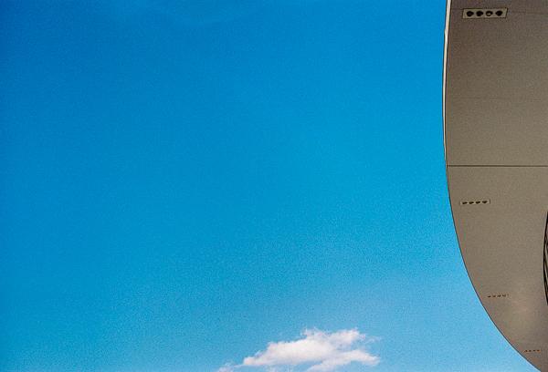Milan minimal sky and clouds | Minolta SRT100X