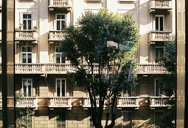 Milan frame of the city | Minolta SRT100X