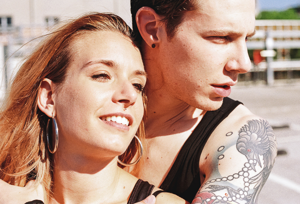 Couple film photography | Minolta SRT100X