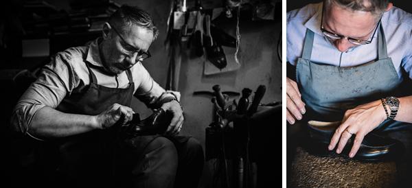 Refining | Roberto Ugolini shoemaker
