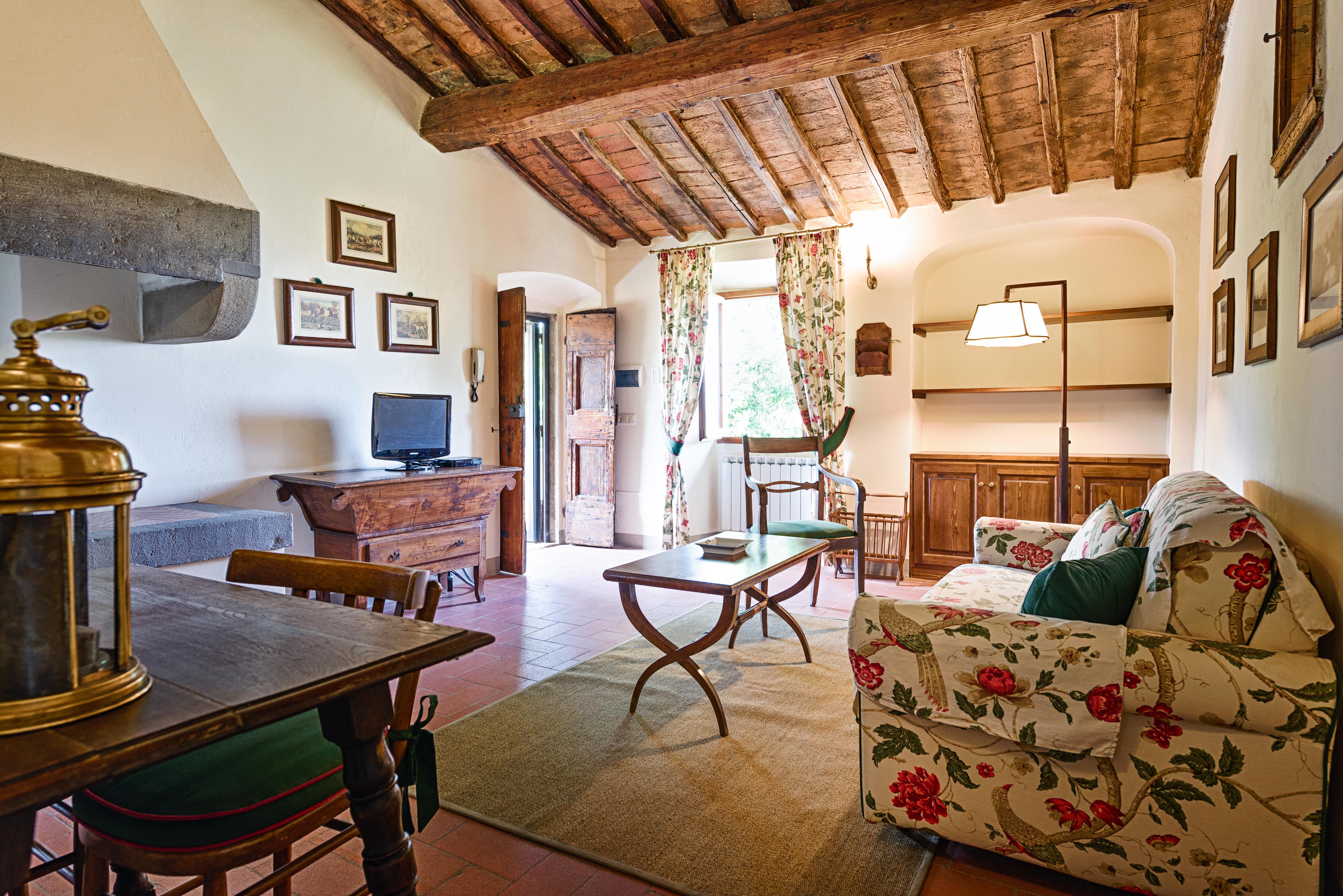 Salotto | Villa di Lusso a Bagno a Ripoli