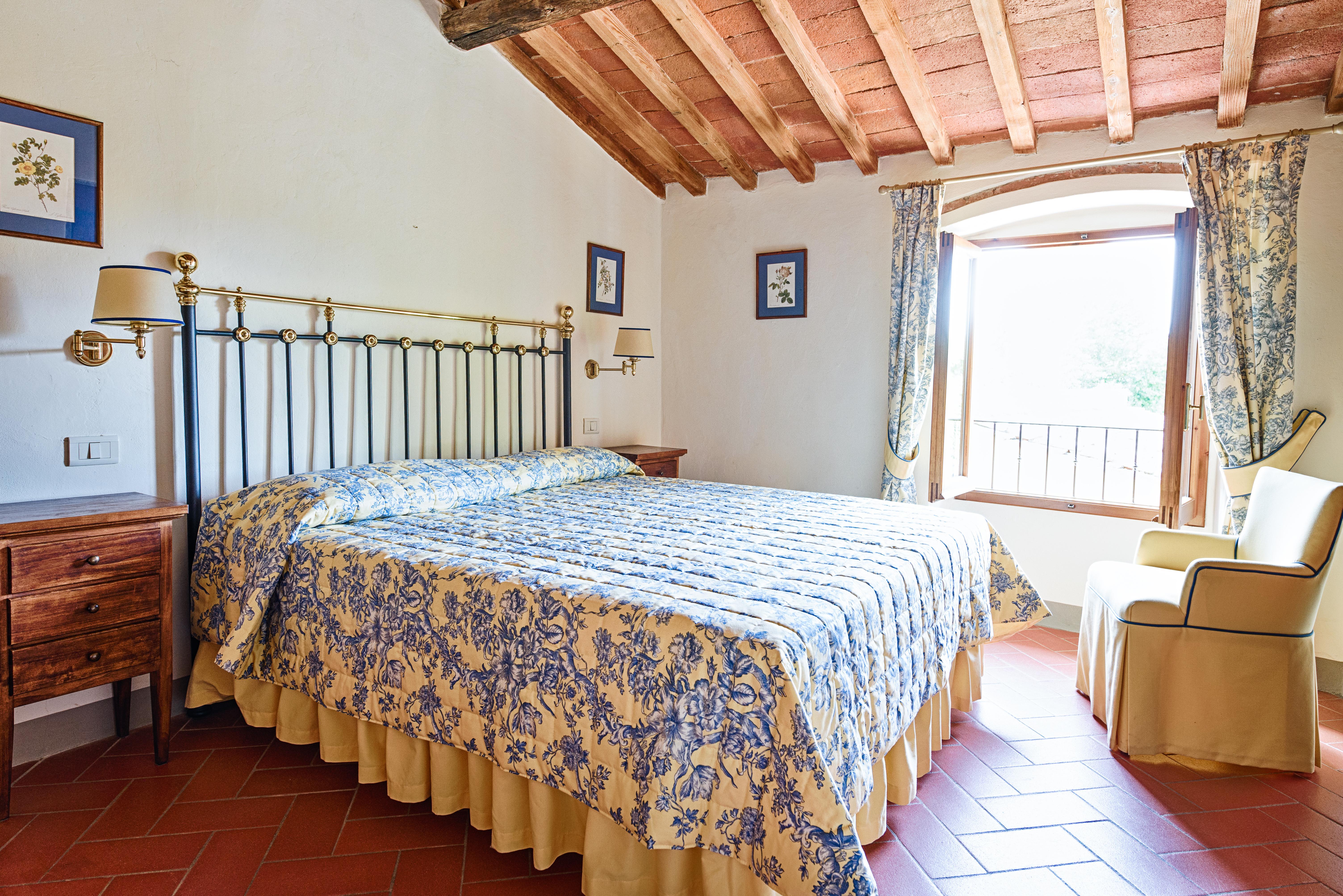 Camera patronale | Villa di Lusso a Bagno a Ripoli