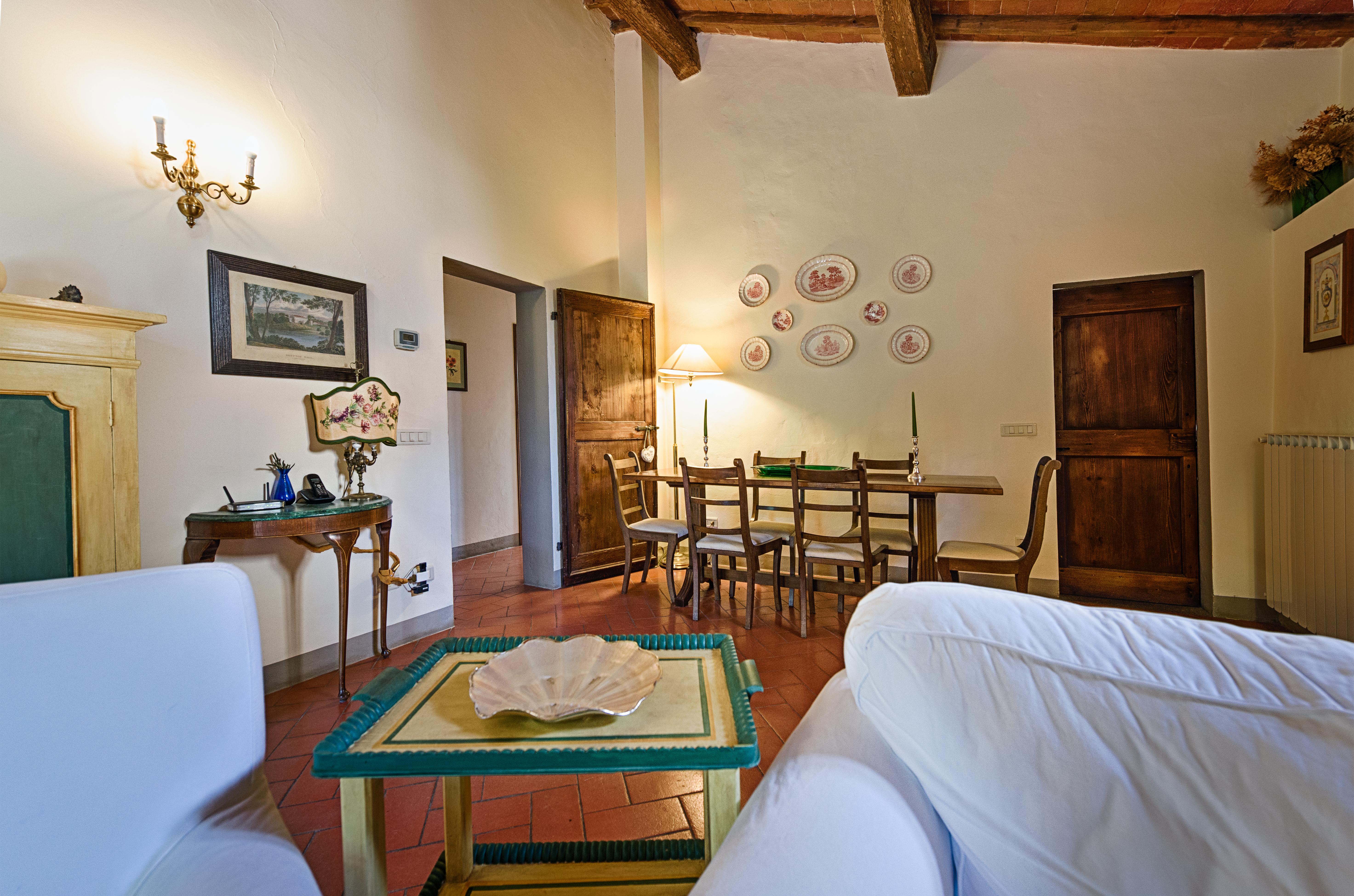 Salone | Villa di Lusso a Bagno a Ripoli
